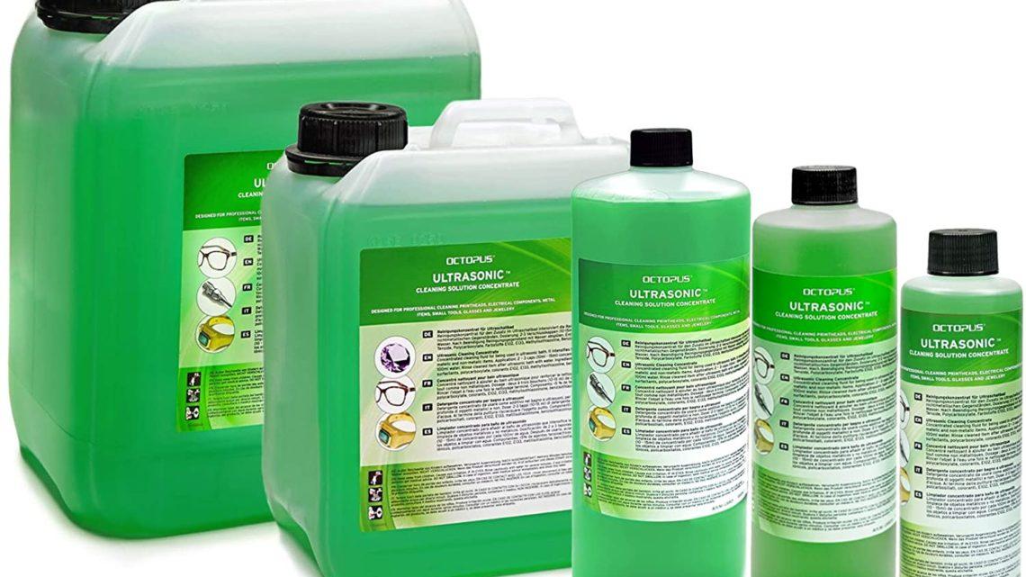 Les meilleurs liquides de nettoyage pour bac à ultrason