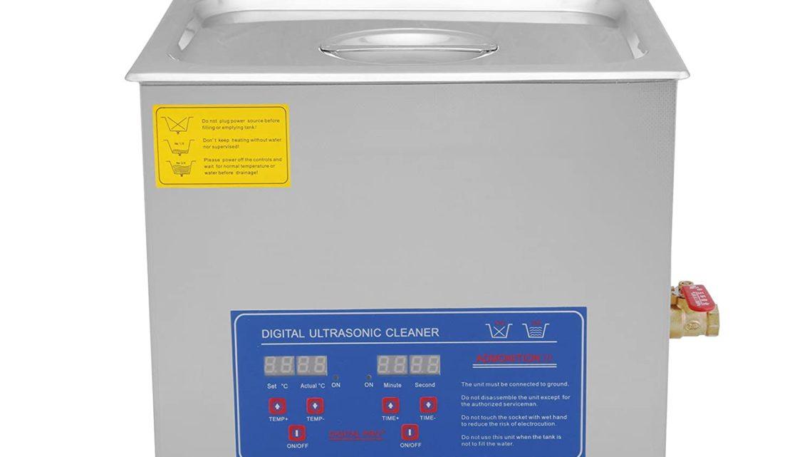 Nettoyeur ultrason pour pièces mécaniques: Notre sélection des 4 meilleurs bacs